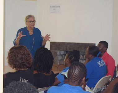 Michèle Duvivier Pierre-Louis au projet Santé-Droits pour parler de changement climatique et santé