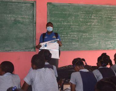 Campagne de sensibilisation dans les écoles à Martissant autour du Coronavirus